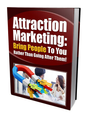 What is Attraction Marketing and What Does it Off (ebook-pdf file) free shipping
