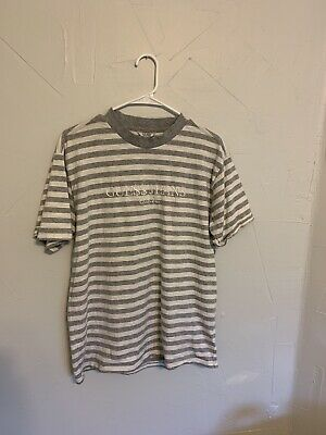 be5a8a9c0db3 GUESS X ASAP Rocky Blue Striped T Shirt - Size M Medium - $90.00 ...
