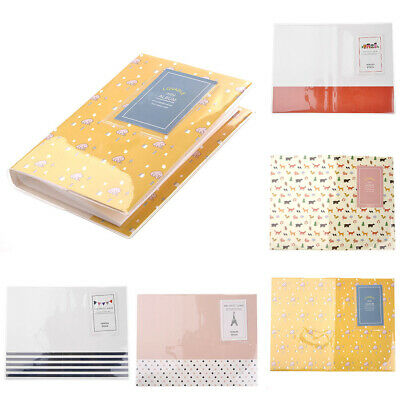 "3"" inch 84 Pockets Photo Album Pictures Case For Fujifilm Instax Polaroid"