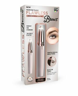 NEW Thin Lizzy Finishing Touch Flawless Brows 18K Gold Plated