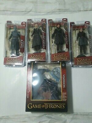 Game of Thrones McFarlane Toys Complete Set of 5 Figures! Very Rare Set Of All 5