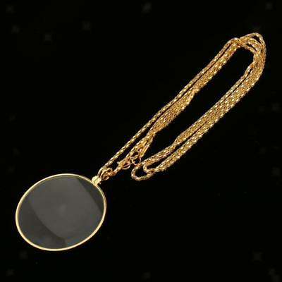 Steampunk Monocle Magnifier Gold Tone Cosplay