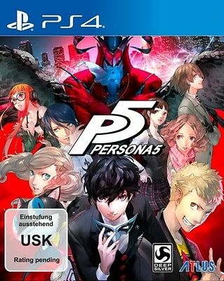 Sony PS4 Playstation 4 Spiel Persona 5 NEU*NEW