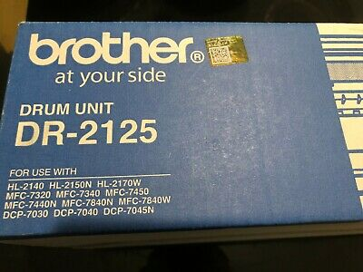 Genuine New Brother DR2125 Drum in the box