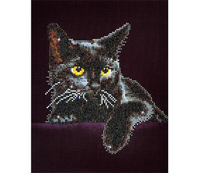 Diamond Dotz Facet Art Kit - Midnight Cat
