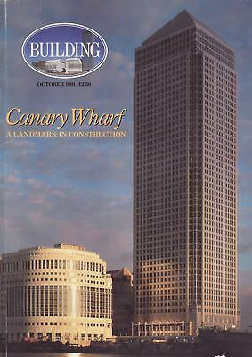 Building Magazine Canary Wharf special October 1991