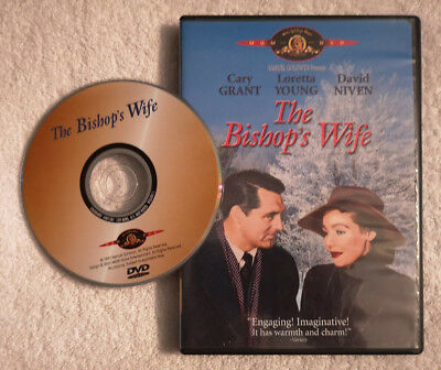 The Bishop's Wife 1947 (DVD OOP R1) Cary Grant Loretta Young David NIiven