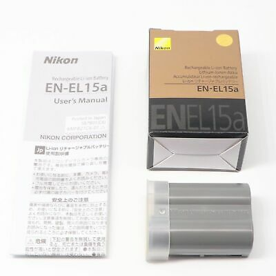 NEW Nikon EN-EL15A Battery For D850 D7500 D750 D810 D7200 D7000 D7100 MB-D12
