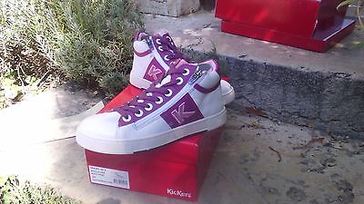 Bottillons Baskets Fille Chaussures 33 Mod8 Cuir Sneakers Kickers hdtsrQ