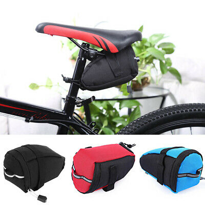 Bicycle Saddle Bag Bike Seat Pouch Cycling Tail Bag Reflective IBERA IBSB15 4