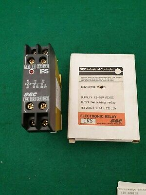 GEC Industrial Controls IRS Switching Relay
