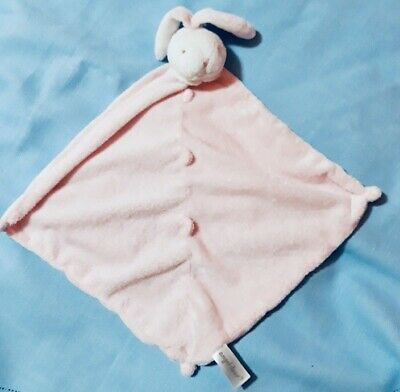 Blankets & Throws Angel Dear Htf Lovey Security Baby Blanket Plush Napping Bunny Rabbit Pink White Baby