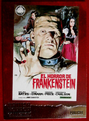 BRITISH HORROR COLLECTION - DAVID PROWSE - HORROR OF FRANKENSTEIN - FOIL Card F5