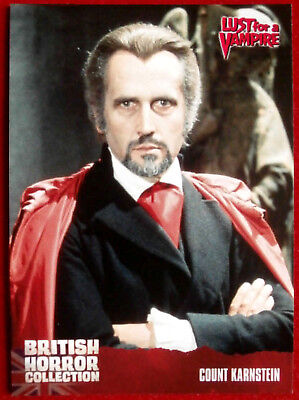 BRITISH HORROR COLLECTION - Lust For A Vampire - COUNT KARNSTEIN - Card #65