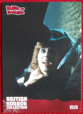 BRITISH HORROR COLLECTION - Dr Jekyll & Sister Hyde - KILLER - Card #38