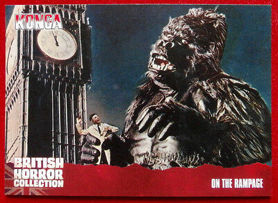 BRITISH HORROR COLLECTION - Konga! - ON THE RAMPAGE - Card #55