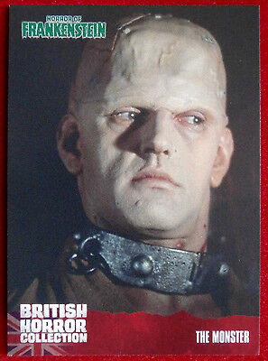 BRITISH HORROR COLLECTION - Horror of Frankenstein - DAVID PROWSE - Card #19