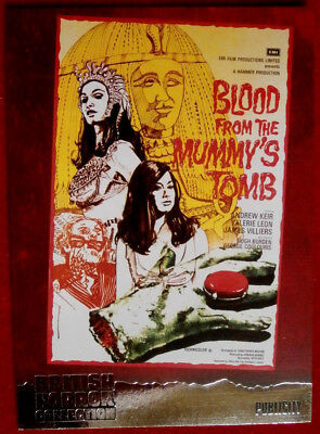 BRITISH HORROR COLLECTION - BLOOD FROM THE MUMMY'S TOMB - FOIL Card F1