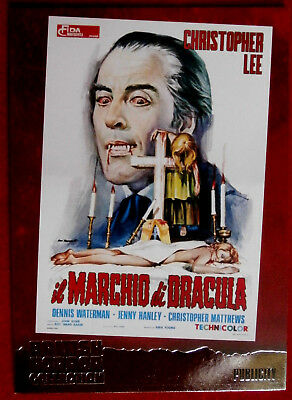 BRITISH HORROR COLLECTION - CHRISTOPHER LEE - SCARS OF DRACULA - FOIL Card F3