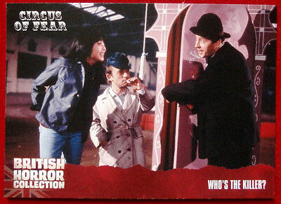 BRITISH HORROR COLLECTION - Circus of Fear - WHO'S THE KILLER? - Card #88