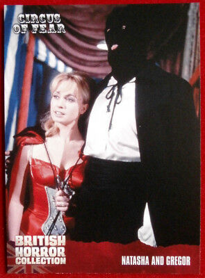 BRITISH HORROR COLLECTION - Circus of Fear - NATASHA AND GREGOR - Card #82