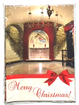 Franciscan Monastery of The Holy Land Washington Blank cards envelopes Christmas