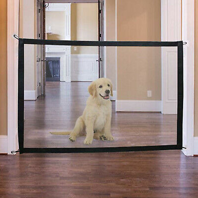 Pet Dog Easy Mesh Gate Safe Guard And Install Anywhere Pet Safety Enclosure UK