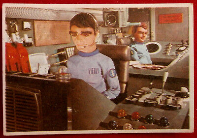 THUNDERBIRDS - Deep Sea Security - Card #50 - Somportex 1966