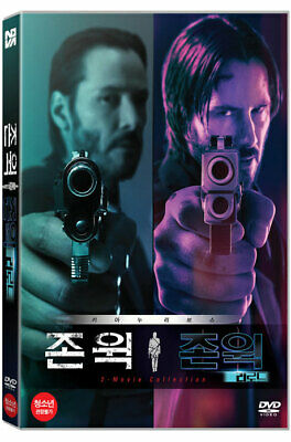 John Wick 1 & Chapter 2 - DVD 2-Movie Collection (2019)