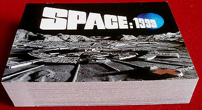 SPACE 1999 - COMPLETE BASE SET OF 54 CARDS - Unstoppable - Gerry Anderson