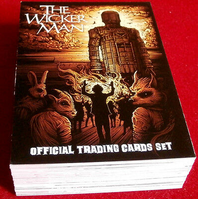 THE WICKER MAN - COMPLETE BASE SET of 54 cards,  Unstoppable Cards