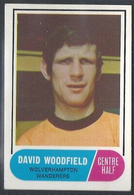 A&Bc-Football 1969 Green Back Facts-#117- Wolves - David Woodfield