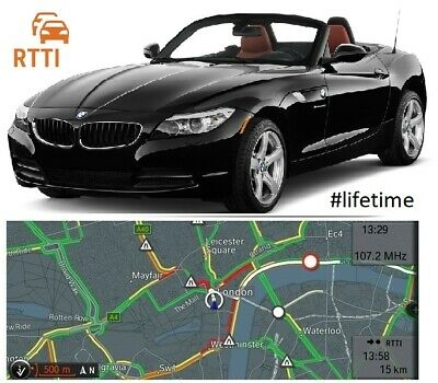 BMW RTTI life time live traffic for BMW Z4 E89 #summer