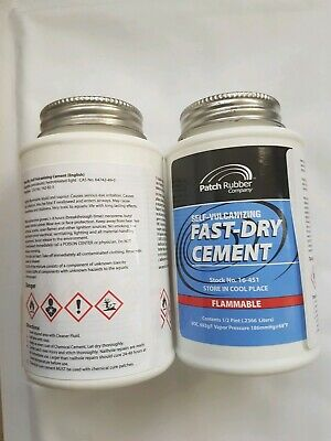 Fast Dry Cement - Vulcanising Solution (Usa) Puncture Repair