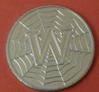 NEW A-Z 2019 ALPHABET 10p COIN HUNT-  LETTER W - WORLD WIDE WEB  UNCIRCULATED
