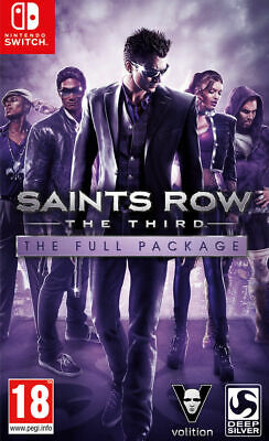 Saints Row: The Third - The Full Package (Nintendo Switch) *NEW/SEALED* IN STOCK