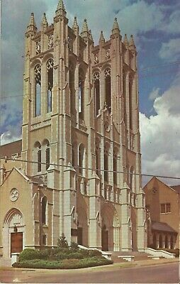 TX. Fort Worth, First Methodist Church, Famous Towers Vintage Postcard     M103