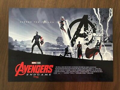 AVENGERS ENDGAME AMC IMAX Exclusive Week 2 of 2 Poster & Bonus Solo IMAX Poster
