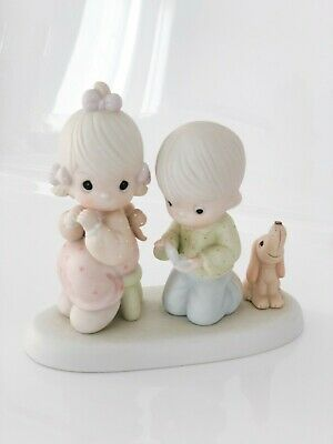 Precious Moments With This Ring I ... Porcelain Figurine