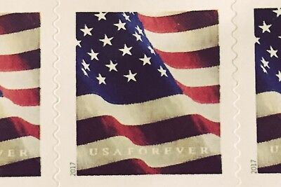 20 U.S. Flag USPS First Class Forever Postage Stamps