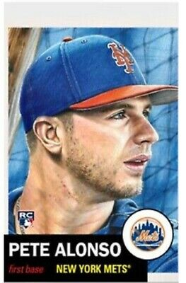 2019 Topps Baseball Living Set Rookie Card New York Mets Pete Alonso Rc #176