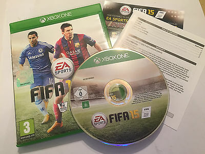 Xbox One Xb1 Game Fifa 15 2015 Complete Disc Is Excellent Condition