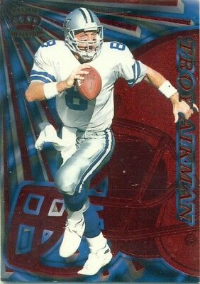 Nfl - Football Insert Trading Card - Pacific Collection - Troy Aikman - #36