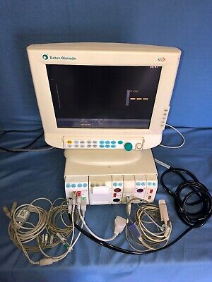Datex Ohmeda S/5 Flat Screen Anesthesia Monitor Series Modules NMT SP02 E-copsv