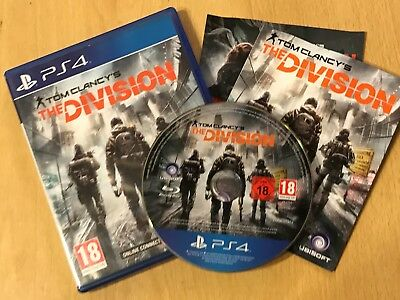 Playstation 4 Ps4 Game Tom Clancy's The Division Complete Pal