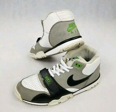 new arrival c2489 f34d3 Nike Air Trainer 1 MID Premium Chlorophyll Rt 2012 Bo Jackson 317553-100  Size 10