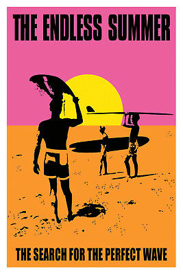 THE ENDLESS SUMMER MOVIE POSTER  61x91CM (24x36inch)