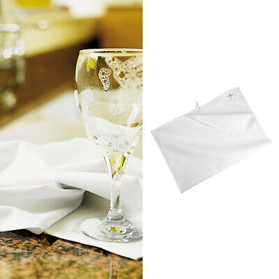 Towel City Cotton Tea Towel (TC041) - White Plain Tea Towel