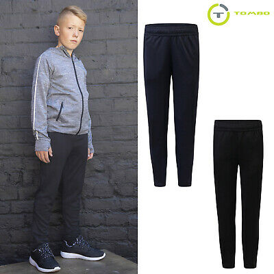 Tombo Kids Slim Leg Training Track Suit Pant (TL582) - Casual Jogging Trouser
