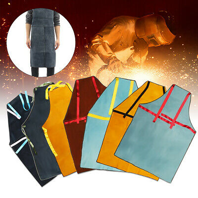 100X70CM Leather Welding Apron Welders Workwear Glaziers Blacksmith Protection